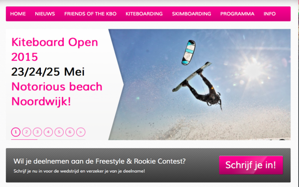 KBO site web kiteboard open