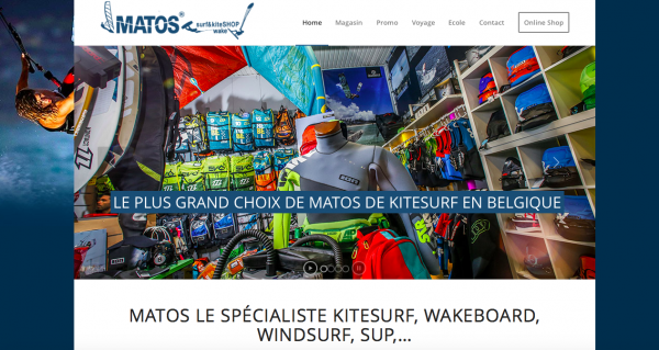 matos shop 2015 magasin kitesurf