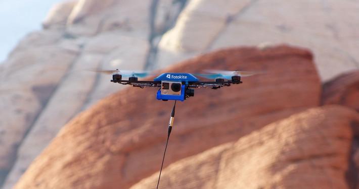 drone fotokite cool