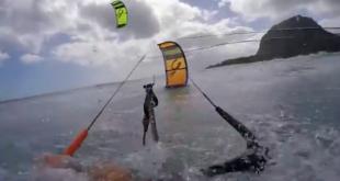 kite crash cabrinha Surf 2016