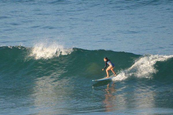 Surf vague photo kitesurf