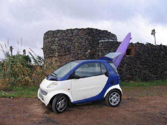 voiture surf kitesurf taille
